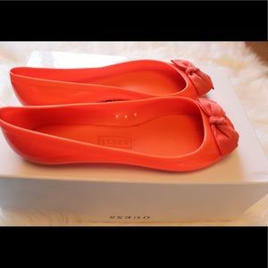 Jcrew jelly flats